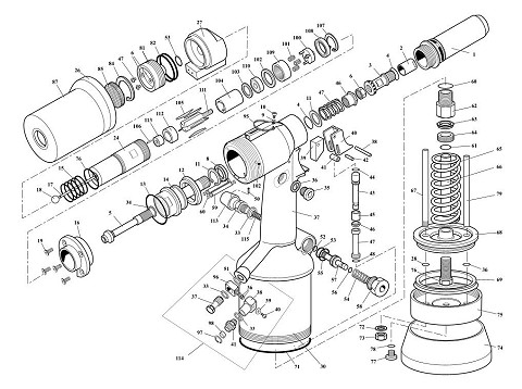 Exploded Parts Illustrations