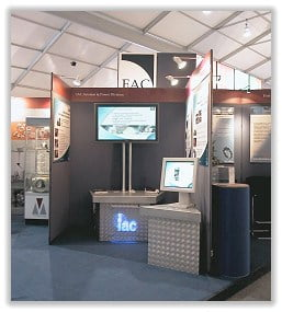 Exhibition Media Trade Stand Designed by Orchid