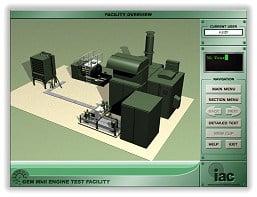 Computer Based Training (CBT) Engine Test Facility