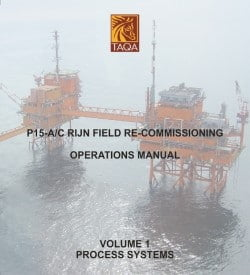 Front Cover of Rijn Operations Manual